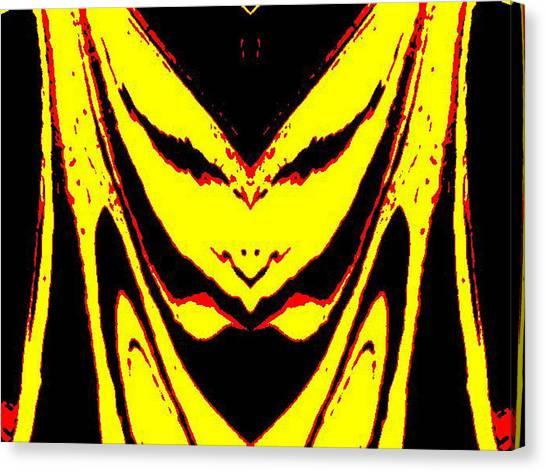 Lemon Face Canvas Print