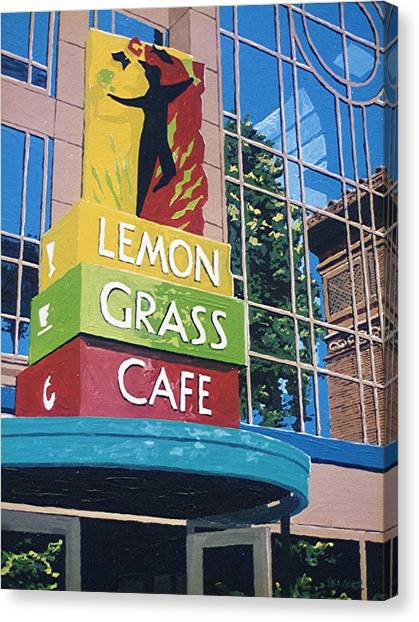 Lemon Grass Canvas Print by Paul Guyer