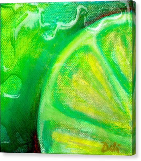 Lemon Lime Canvas Print