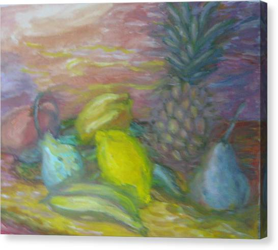 Lemon's Loves Canvas Print