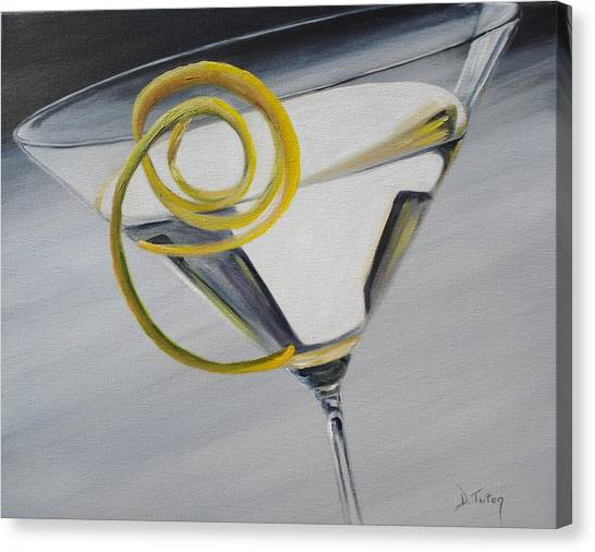 Lemontini Canvas Print