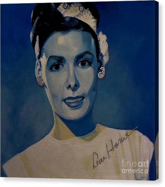 Lena Horne Canvas Print