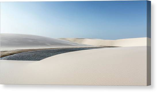 Dunes Canvas Print - Lena?a?is Maranhenses by Alfred Myers