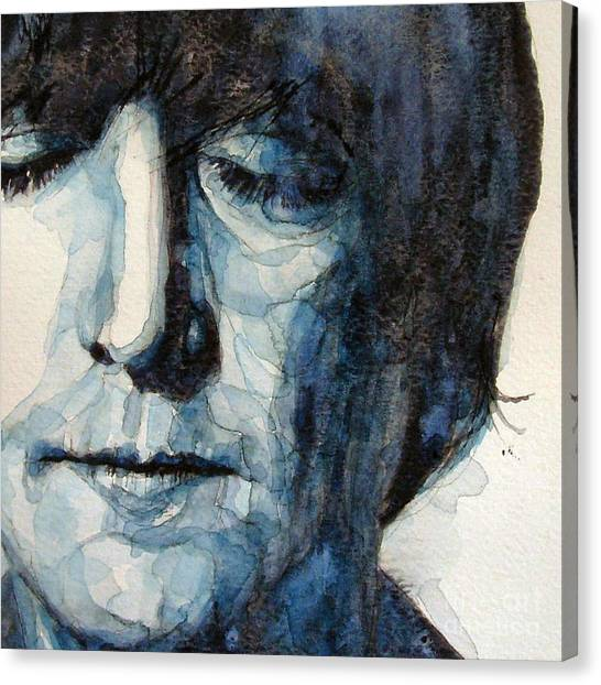 The Beatles Canvas Print - Lennon by Paul Lovering