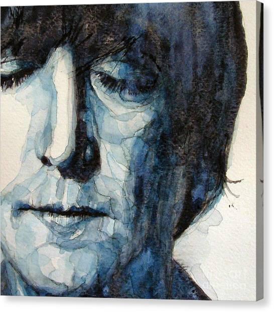 John Lennon Canvas Print - Lennon by Paul Lovering