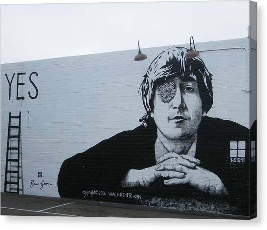Lennon Portrait Canvas Print