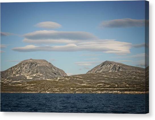 Lenticular Cloud Hangout Canvas Print