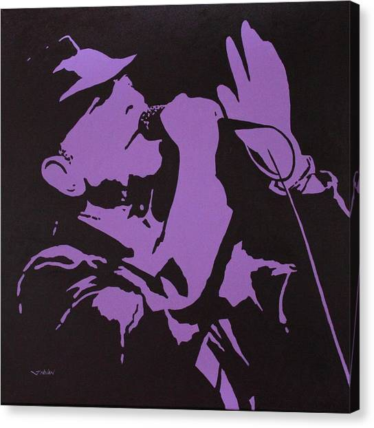 Warhol Canvas Print - Leonard Cohen The Tower Of Song by John  Nolan
