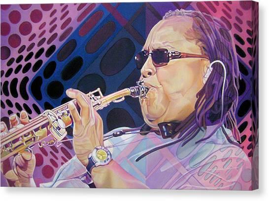 Leroi Moore Canvas Print