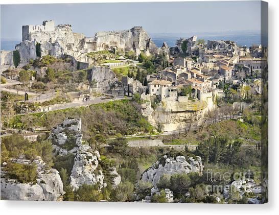 Les-baux-de-provence Canvas Print