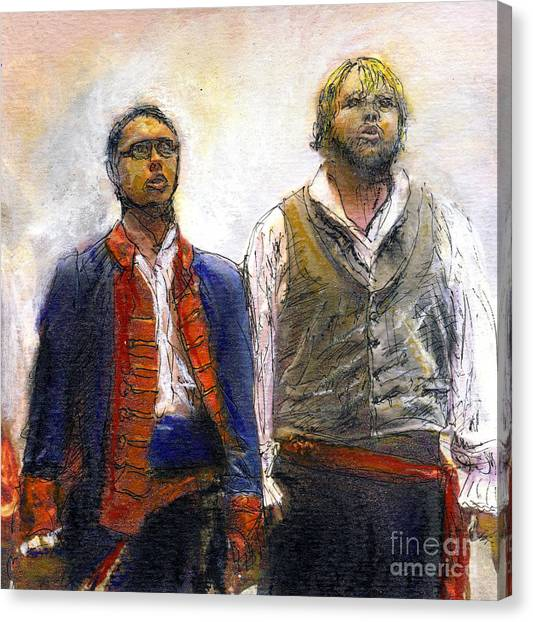 Les Miserables Canvas Print by Randy Sprout