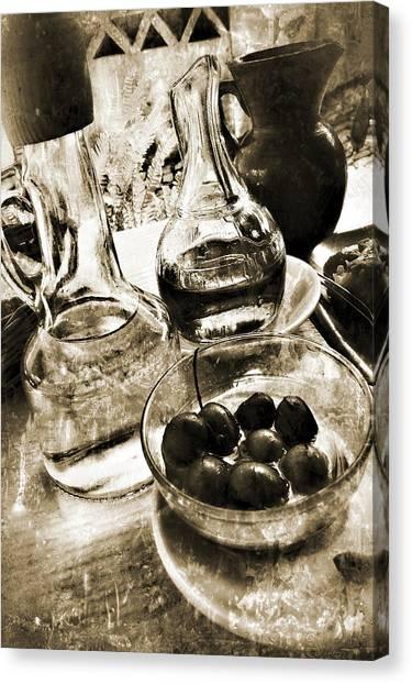 Les Olives Canvas Print