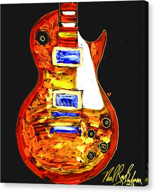 Les Paul 111 Canvas Print