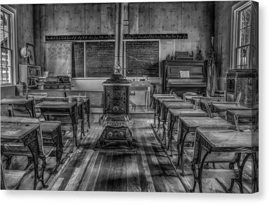 Lesson Plan Canvas Print by Ray Congrove