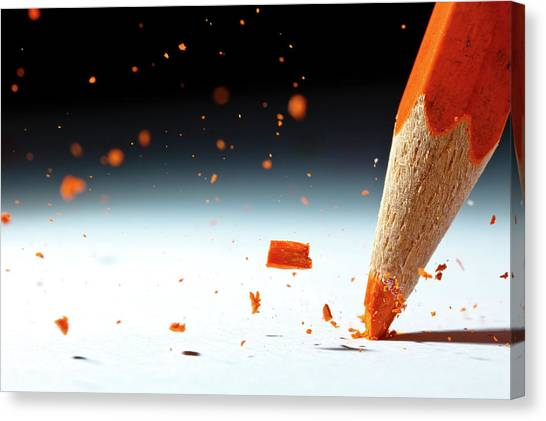 Pencils Canvas Print - Let It Rain by Christophe Kiciak