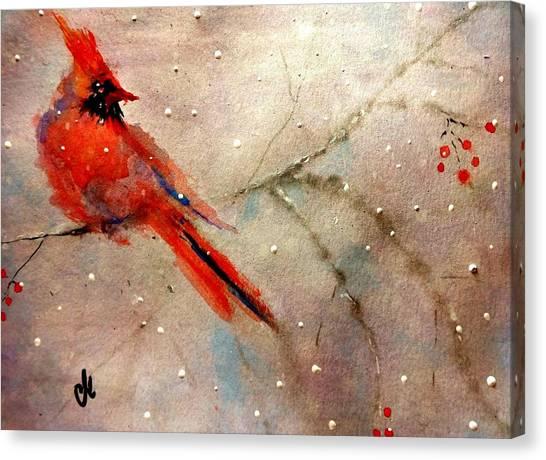 Let It Snow..let It Snow.. Canvas Print