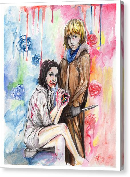 Let Me Bleed Canvas Print by Miguel Karlo Dominado