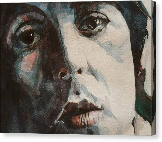 Paul Mccartney Canvas Print - Let Me Roll It by Paul Lovering
