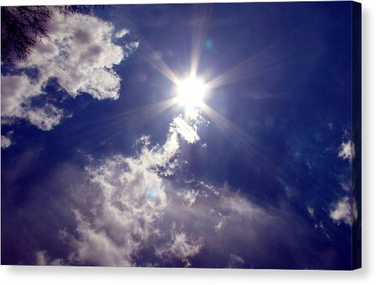 Let The Sun Shine In Canvas Print by Andrea Dale