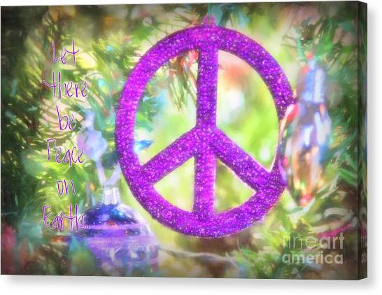 Let There Be Peace On Earth Canvas Print