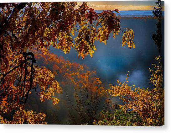 Letchworth 1 Canvas Print by Kevin Colton