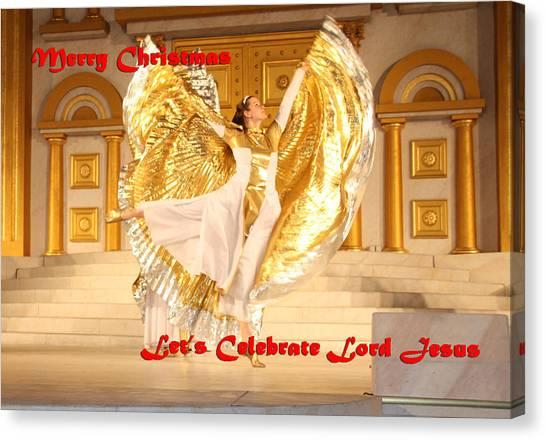 Let's Celebrate Lord Jesus4 Canvas Print