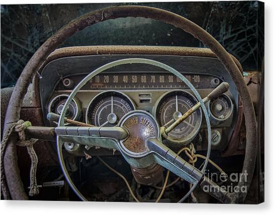 Let's Drive Canvas Print