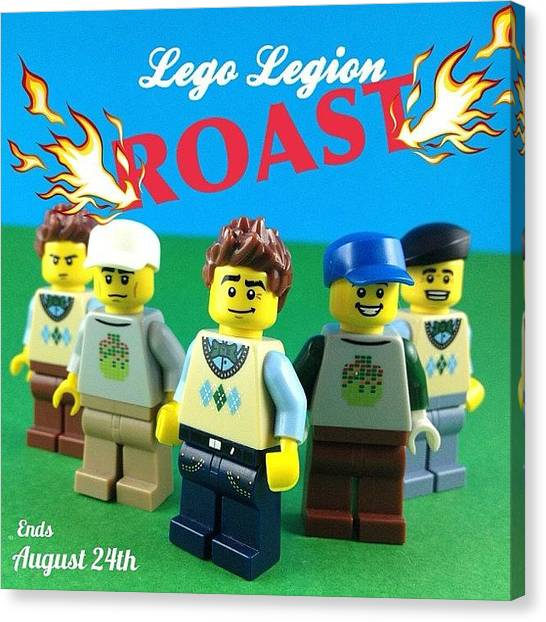 The Legion Canvas Print - Lets Play A Game! It's Your Turn To by Lego Legion
