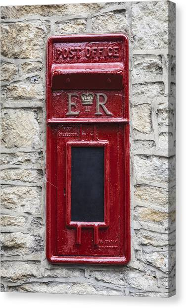 Mail Boxes Canvas Print - Letterbox by Joana Kruse