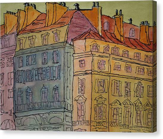 L'europe  Canvas Print by Oscar Penalber