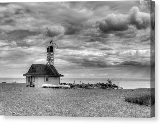 Leuty Lifeguard Station Canvas Print