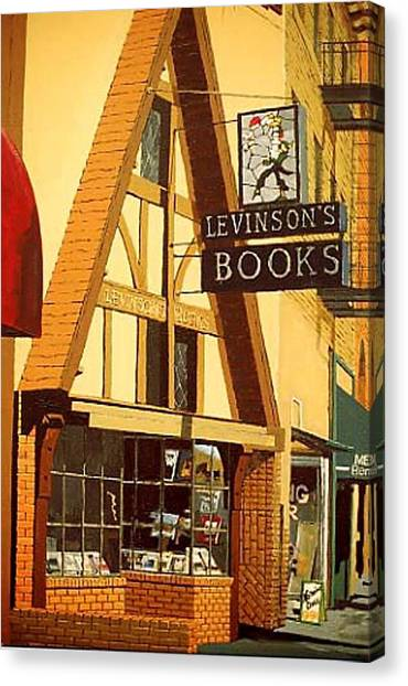 Levinson's Canvas Print by Paul Guyer