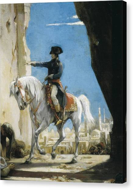 Academic Art Canvas Print - Levy, Henri L�opold 1840-1904. Napoleon by Everett