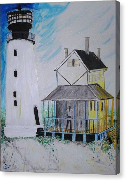Lewes 1926 Lighthouse Canvas Print