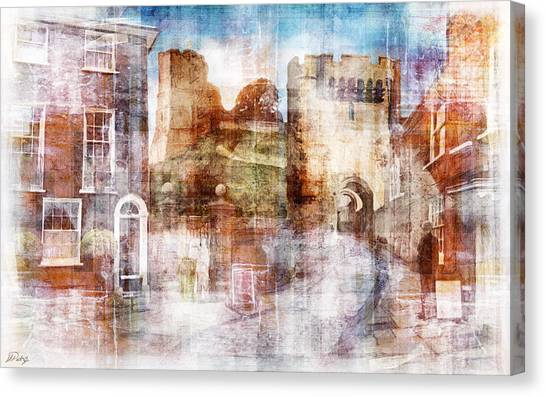 Canvas Print - Lewes Castle Sussex by Mark Preston