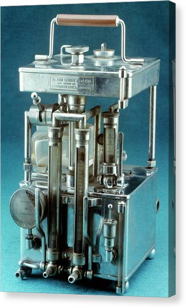 Improve Canvas Print - Lewis Intratracheal Apparatus by Science Photo Library