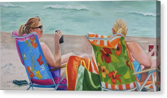 Ladies' Beach Retreat Canvas Print