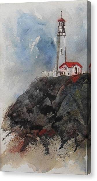 Lghthouse Canvas Print