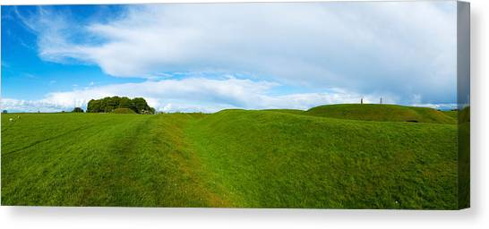 Stonehenge Canvas Print - Lia Fail Stone On A Hill, Hill Of Tara by Panoramic Images