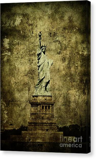 Neoclassical Art Canvas Print - Liberation by Andrew Paranavitana