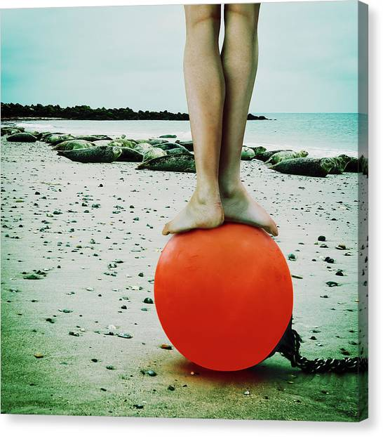 Legs Canvas Print - Liberta? by Ambra