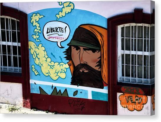 Liberte Canvas Print - Liberte In Chile by John Rizzuto