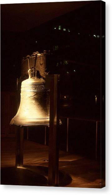 Liberty Bell Canvas Print by Hector  Valentin