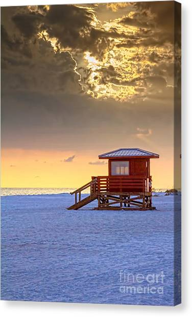Lifeguard Canvas Print - Life Guard 1 by Marvin Spates
