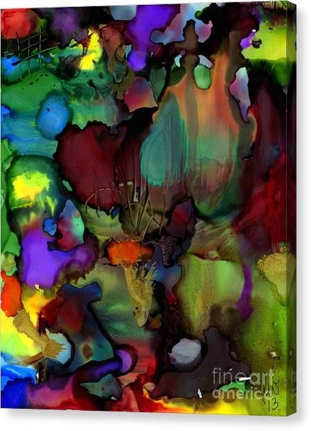 Life In Another World Canvas Print