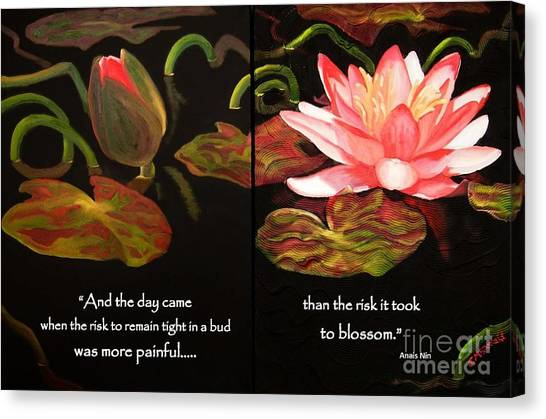 Life In Full Bloom Canvas Print