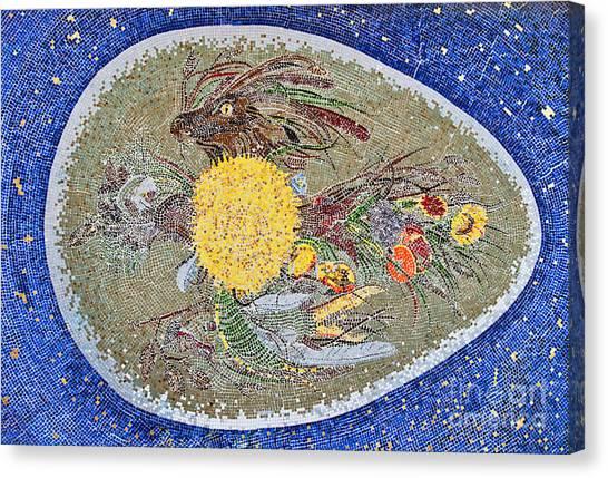 Life Inception Mosaic Canvas Print by Mae Wertz