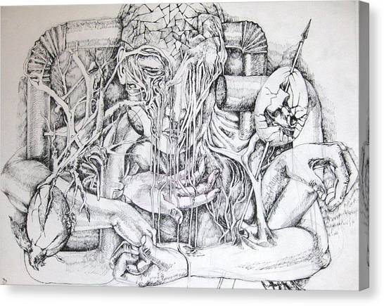 Life Canvas Print by Moshfegh Rakhsha