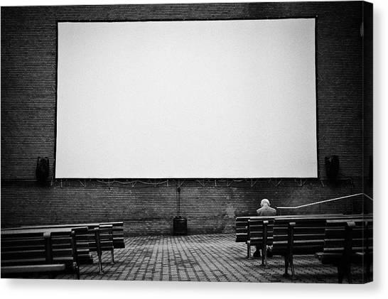 Empty Canvas Print - Life Show by Sorin Vidis