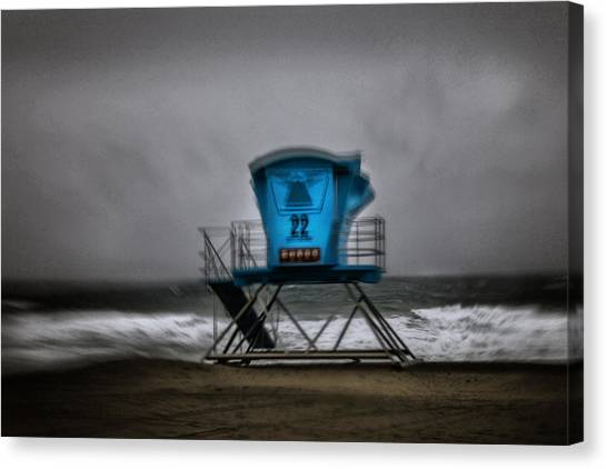 Lifeguard Tower Series - 12 Canvas Print